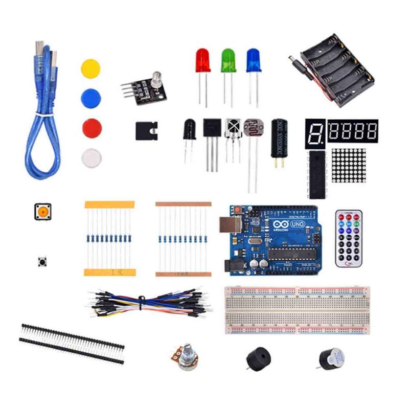 Arduino Uno R3 Kit básico aprendizaje