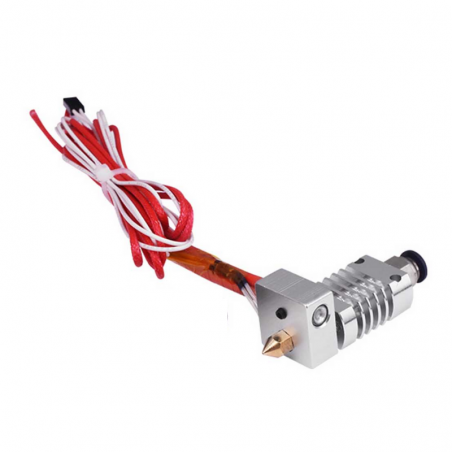 Hotend CR8 1.75 mm Boquilla latón 0.4 mm 12V