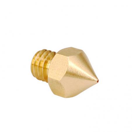 Boquilla MK8 Reprap cobre para filamento 3mm.