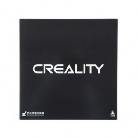 Cama placa vidrio templado Creality carbon y silicio 235x235x4mm