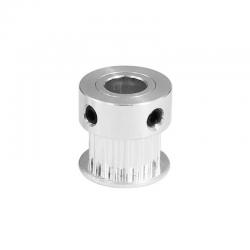 Polea aluminio GT2 20 dientes 6mm.
