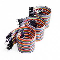 Lote 120 cables dupont...