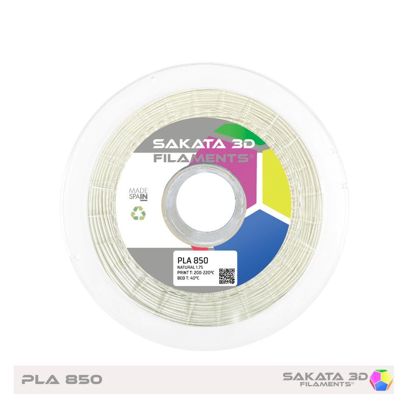 PLA Sakata 850 White Filamento 3D 1.75 mm. 1Kg.