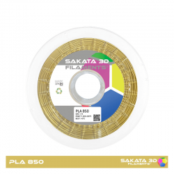 PLA Sakata 850 Gold. Filamento 3D 1.75 mm. 1Kg.