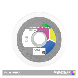 PLA Sakata 850 Grey. Filamento 3D 1.75 mm. 1Kg.