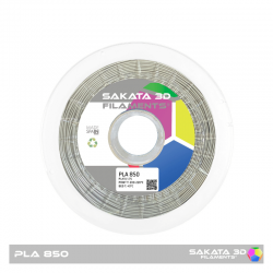 PLA Sakata 850 Silver. Filamento 3D 1.75 mm. 1Kg.