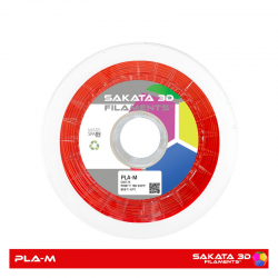 PLA Mate Sakata 850 Red Filamento 3D 1.75 mm. 1Kg.