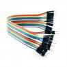 40 cables Dupont 20cm, Macho-Macho.