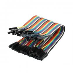 40 cables Dupont 20cm,...