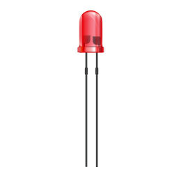 Lote 100 diodos led 5 mm rojo