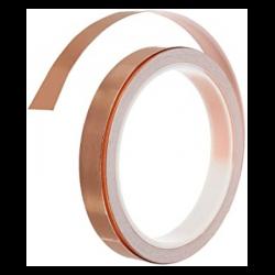 Cinta conductiva cobre 6mm.